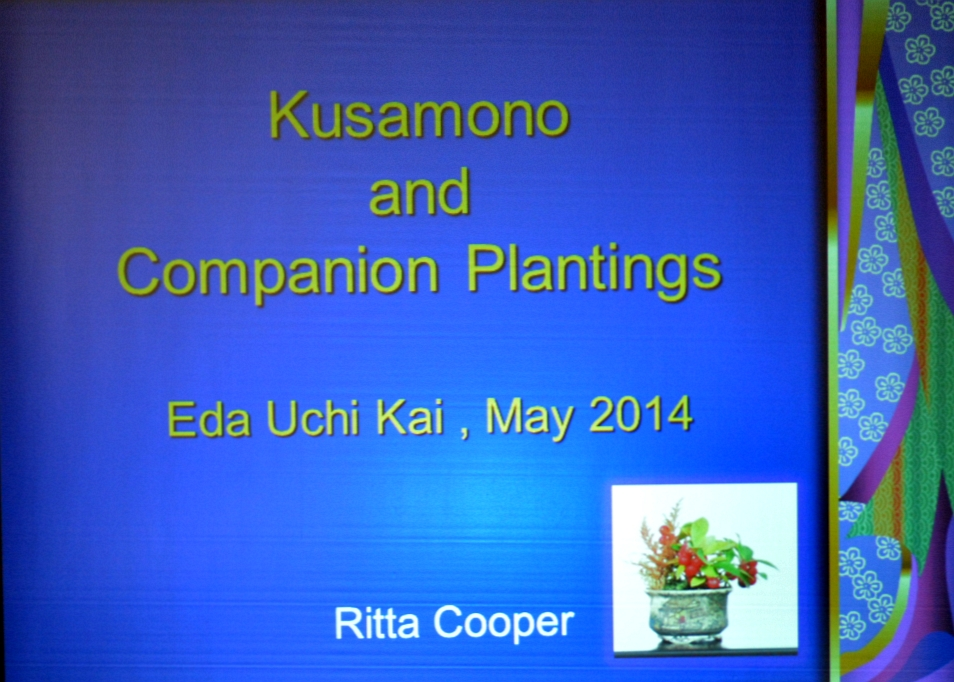 Kusamono workshop Ritta Cooper 04-05-2014 000